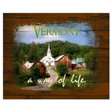 Vermont A Way of Life Poster