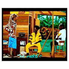 Conscious Rastafarian Culture Art Poster
