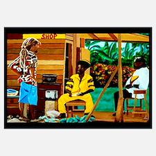 Conscious Rastafarian Culture Art