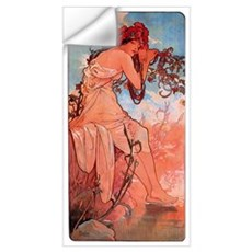 Alphonse Mucha Wall Decal