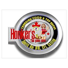 Honker's Canadian Logo Poster