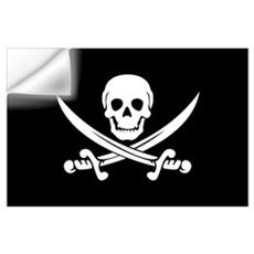 PIRATE! Wall Decal