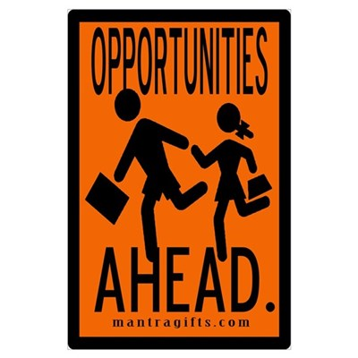 Opportunities Ahead Poster