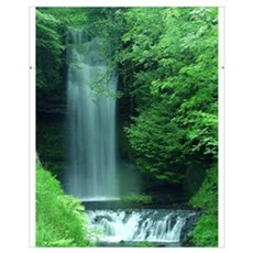 Glencar Waterfall Framed Print