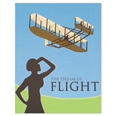The Dream of Flight Poster