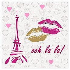 OOH LA LA PARIS Poster