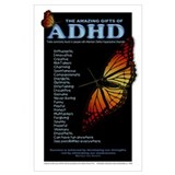 Adhd Wrapped Canvas Art
