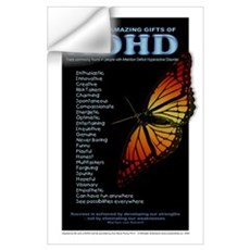 Amazing Gifts of ADHD Wall Decal