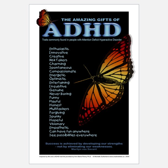 Amazing Gifts of ADHD