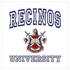 RECINOS University Poster