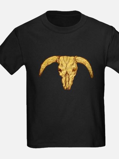 longhorn bull skull T
