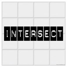 Intersect Chuck Poster