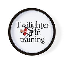 Twilighter in training Wall Clock