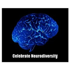 Celebrate Neurodiversity Framed Print
