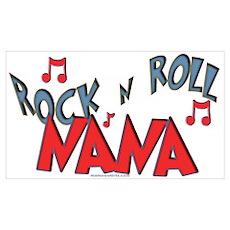 Rock n Roll Nana Poster
