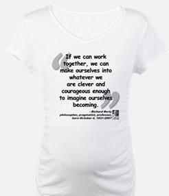 Rorty Together Quote Shirt