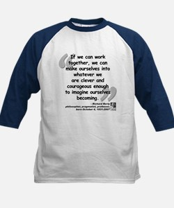 Rorty Together Quote Kids Baseball Jersey