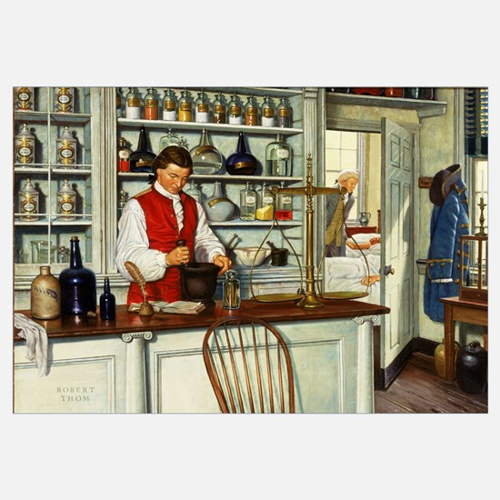 The First Hospital Pharmacy In Colonial America