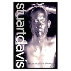 Stuart Davis 11x17 gig / silver Poster