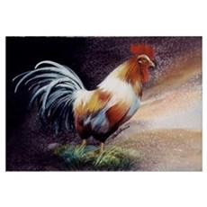 Proud Rooster Canvas Art