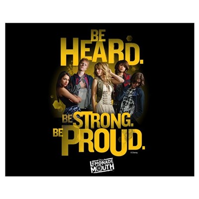 Be Heard Poster