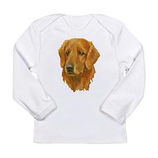 Golden Retriever Long Sleeve Infant T-Shirt