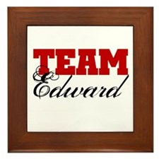 Team Edward Cullen Framed Tile