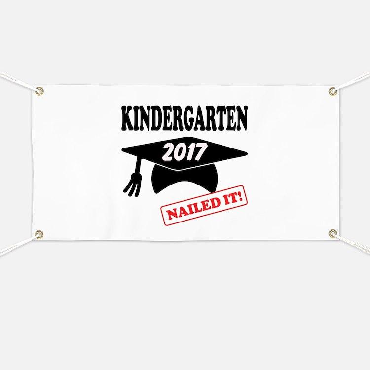 Custom Kindergarten Nailed It Banner