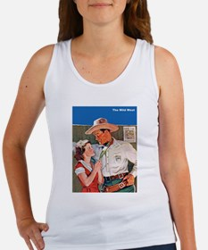 Wild West Cowboy Romance Women's Tank Top