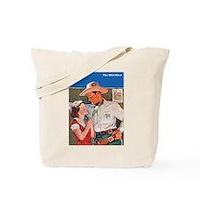 Wild West Cowboy Romance Tote Bag