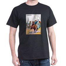 Wild West Cowboy Bear Roping T-Shirt