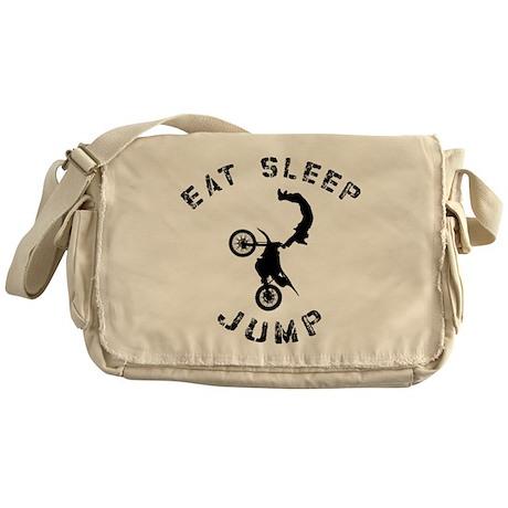 Eat Sleep Jump FMX Messenger Bag