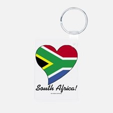 Heart South Africa (World) Keychains