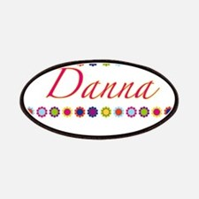 Danna with Flowers Patches