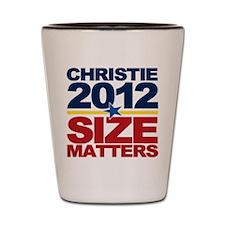 Christie 2012: Size Matters Shot Glass