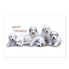 GGreat Pyrenees Postcards 8 pk. Puppy Power