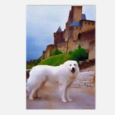 "Great Pyrenees Postcards (P. of 8) ""Carcassonne"""