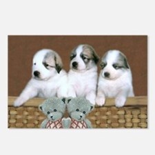 Pyr Pup Trio<br>Postcards (Package of 8)
