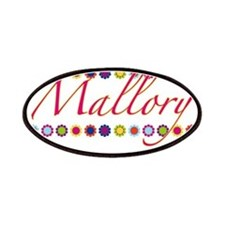 Mallory with Flowers Patches