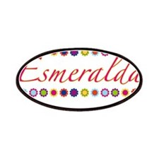 Esmeralda with Flowers Patches