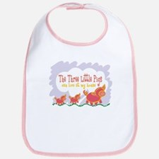 3 Pigs Can Live With Me Bib