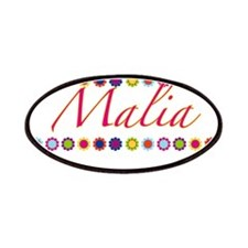 Malia with Flowers Patches