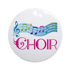 Choir Gift Colorful Keepsake Ornament