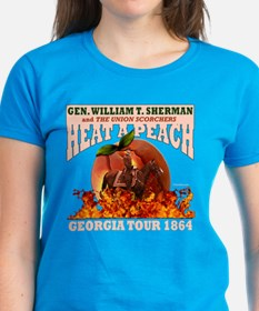 Gen. Sherman 'Heat a Peach' T Tee