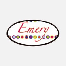 Emery with Flowers Patches