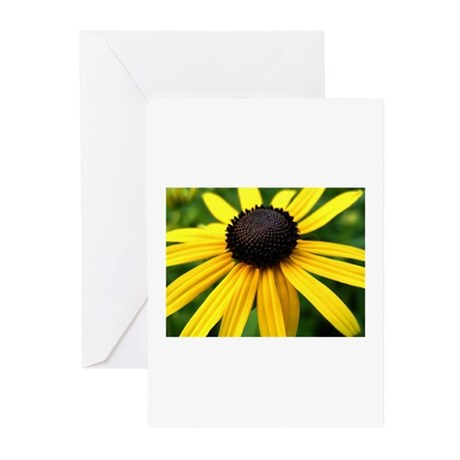 Yellow Flower965 Greeting Cards (Pk of 10)