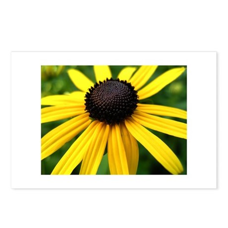 Yellow Flower965 Postcards (Package of 8)