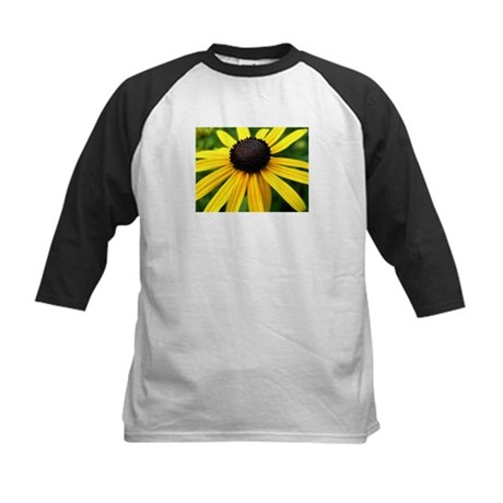 Yellow Flower965 Kids Baseball Jersey