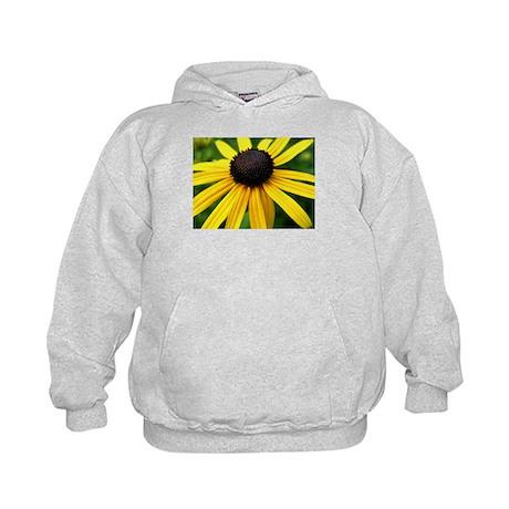 Yellow Flower965 Kids Hoodie