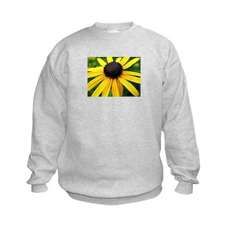 Yellow Flower965 Kids Sweatshirt